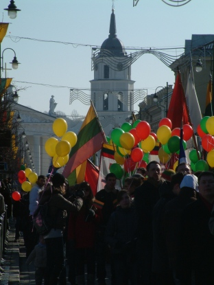 Nepriklausomybes eisena Vilniuje