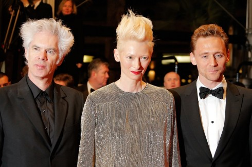 Jim Jarmusch, Tom Hiddleston, Tilda Swinton